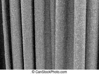 Black Curtain Texture stock photography of curtain or drapes black background