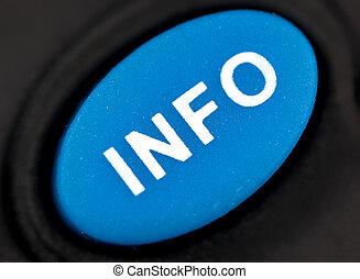 button Info Close up