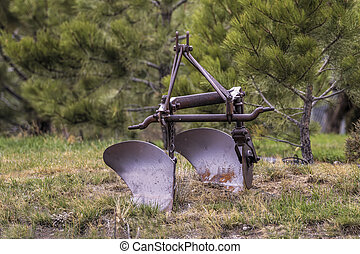 Antique Old Farm Plow