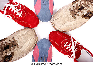Shoes - Colorful shoes