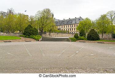 Stadtschloss in Fulda - historic building named Stadtschloss...
