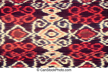 Lombok silk - Traditional textile of Lombok, Indonesia