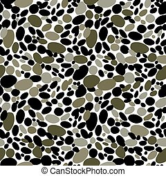 Pebbles texture background. Camouflage seamless wallpaper