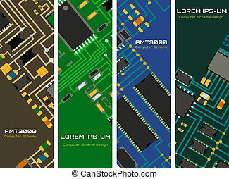 Computer chip technology processor circuit motherboard...
