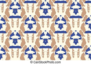 Vector tie dye seamless pattern.