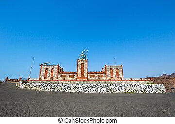 Lighthause Faro de la Entallada near Las Playitas,...
