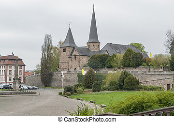 St Michaels Church in Fulda, a city in Hesse, Germany