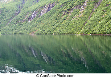 Natural landscape of Norway, Northern Europe - Natural...