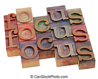 focus word abstract