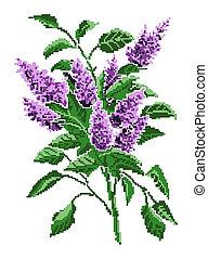 Color image bouquet of flowers. - Color image bouquet of...