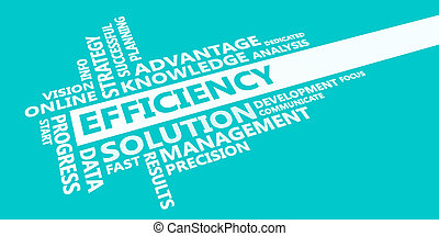 Efficiency Presentation Background