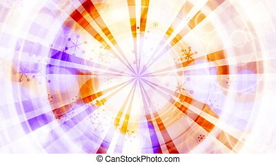 New retro abstract multicolored animated looping CG...