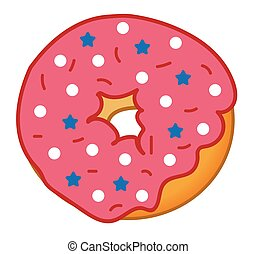 4th of July Donut