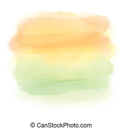 abstract watercolor sunset background 0806