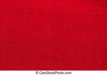 Red Canvas fabric texture - Rustic canvas fabric texture in...