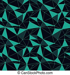 Geometric line hipster seamless pattern with triangle, dot....