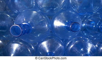 Close up view of large bottle openings. - Open 5 gallon...