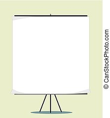 White board with empty space for your message