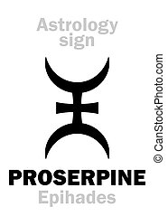 Astrology: planet PROSERPINE - Astrology Alphabet:...