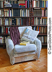 Home library armchair