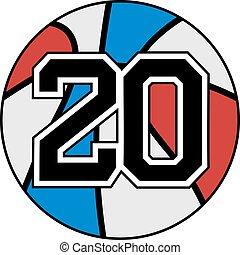 20 basket - Creative design of 20 basket