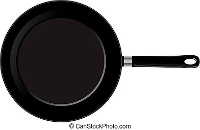 Frying pan - vector frying pan