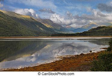 Loch Etive Scotland - Loch Etive in Argyll and Bute,...