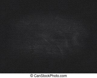 school blackboard with chalk dust for background, backdrop