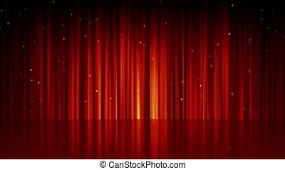 background line curtain