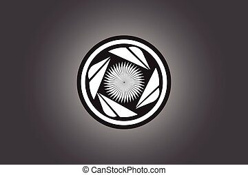 turbine logo design vector