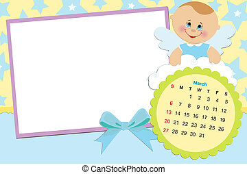 Baby's calendar for march 2011