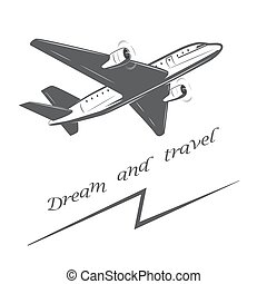 Travel by plane, quickly and safely.