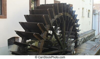 Historic Water Mill in Prague, Czech republic - Historic...