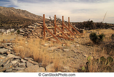 Pinery Station Ruins - Historic Pinery Station Ruins at...