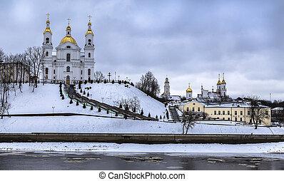 Vitebsk- the embankment of the Western Dvina River, the...