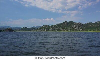 Skadar lake - Boating on Skadar lake, Montenegro