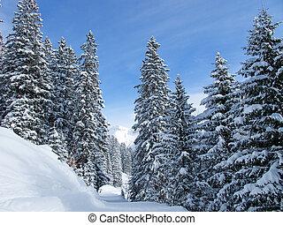 esquí, Pendiente