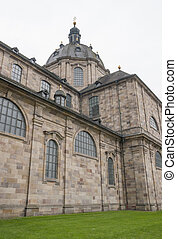 Fulda Cathedral in Fulda, a city in Hesse, Germany