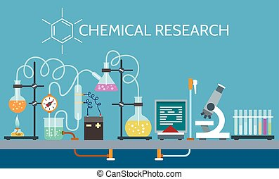 Science chemical laboratory