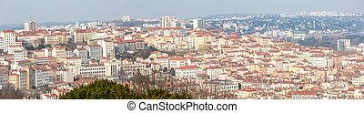 Lyon France panorama