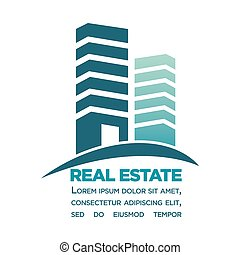 Real estate purchase in city center commercial poster - Real...