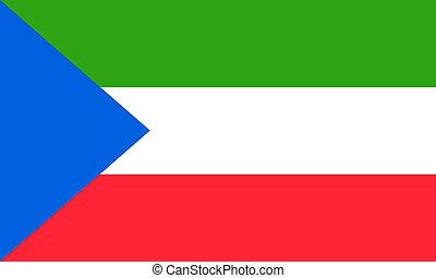 Equatorial Guinea  - Equatorial-Guinea flag