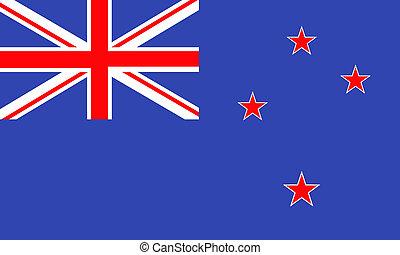 New-Zealandia - New Zealand flag