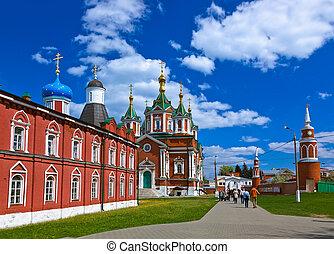 Uspensky Brusensky monastery in Kolomna Kremlin - Russia -...