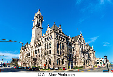 The Old Post Office in Buffalo, New York - USA - The Old...