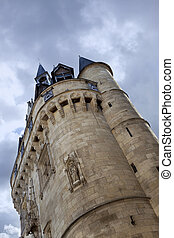 Old fortification in Bordeaux - Monument of fortification in...