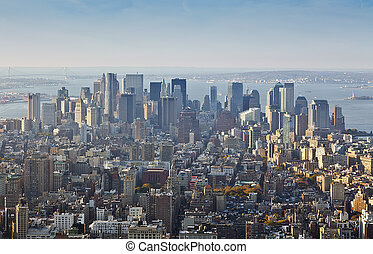 manhatten - An image of Manhatten New York America