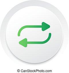 herhalen, eenvoudig, knoop, Vector, Muziek, interface, UI,...