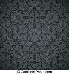 Ornate wallpaper background - Elegant vintage-style...