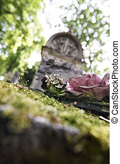 cemetery memory and nostalgy - Memory and nostalgy at Pere...